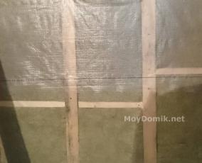 Утепление пола на лоджии и балконе минватой - пленка гидроизоляции