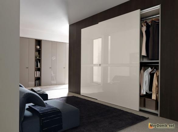 Шкаф купе в стиле минимализм