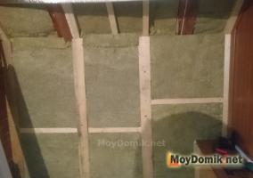 Как утеплить стены на лоджии - обрешетка, минвата