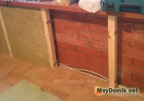 Утепление стен на лоджии - устройство каркаса и установка ваты