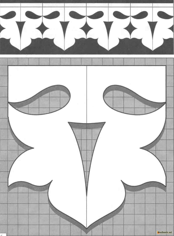 Резные наличники на окна своими руками шаблоны из бумаги 54