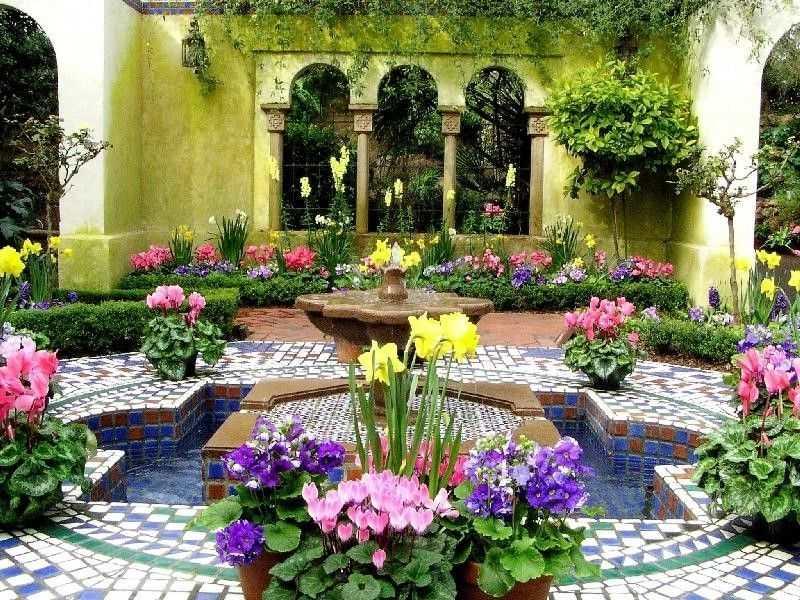 Ландшафтный дизайн дачного участка фото с розами