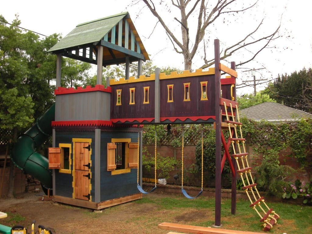 Детские игровые домики из дерева своими руками фото фото 947