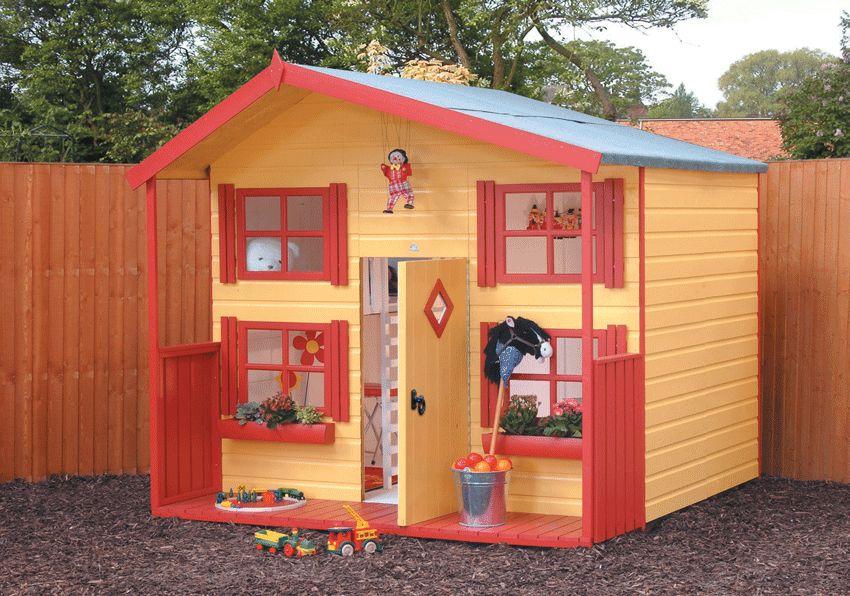 Как сделать для детей дом