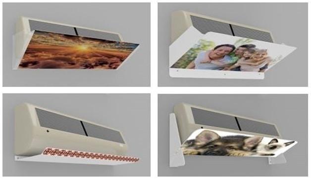 Дизайн экрана для кондиционера