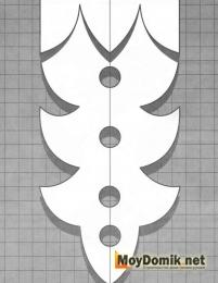 Узор резных наличников на окна - 3