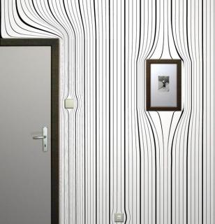 3D фотообои одиночные в черно-белых тонах