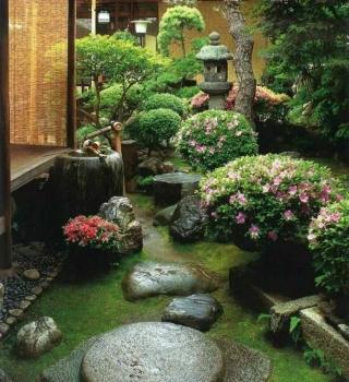 Ландшафтный дизайн дачного участка в японском стиле