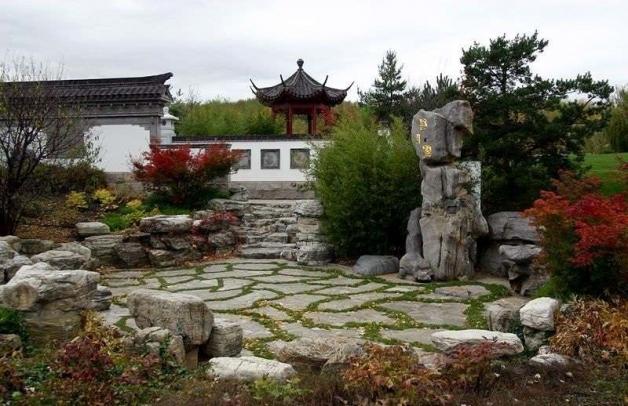 Ландшафтный дизайн дачного участка в китайском стиле