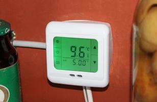 Термометр в погребе (температурный датчик)