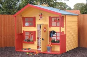 Красочный домик для малышей