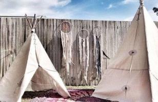Детский вигвам для маленьких индейцев