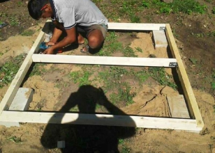 Устройство фундамента для детского деревянного домика
