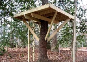 Платформа для домика на дереве