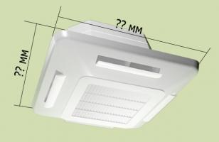 Схема экрана для потолочного кондиционера