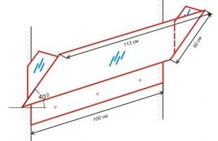 Схема экрана для настенного кондиционера