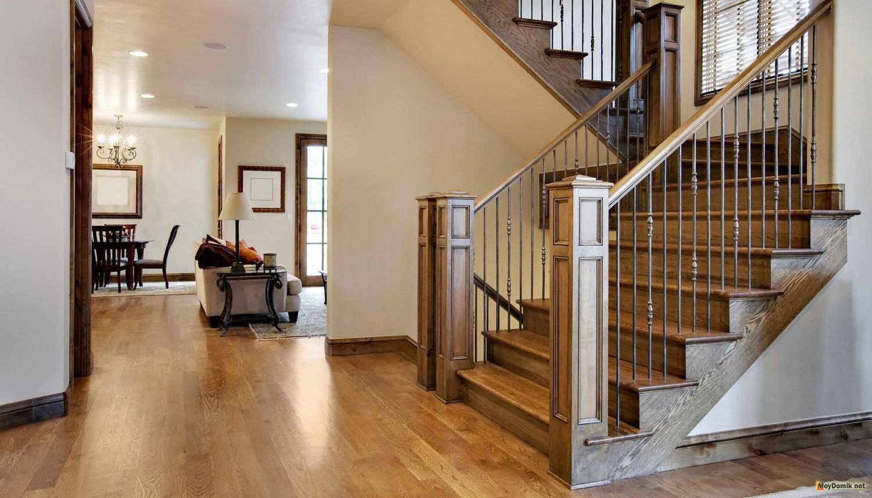 устройство и дизайн лестниц в садовых домах