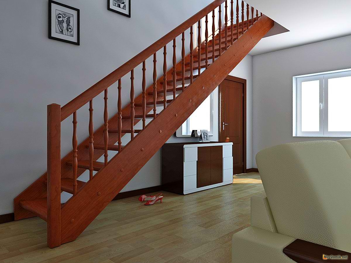 Дачную лестницу на второй этаж своими руками фото 700