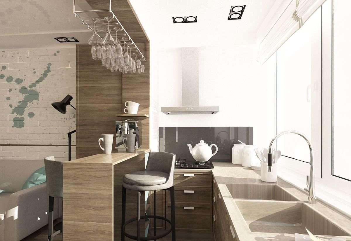 Дизайн кухни оформление 196