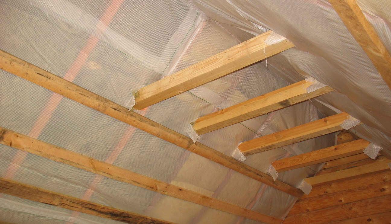 Утепление крыши мансарды своими руками фото 96