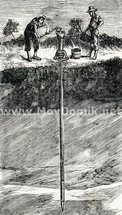 История возникновения абиссинского колодца