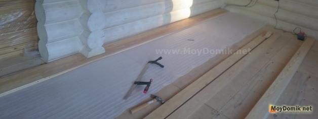 Монтаж половой доски два способа укладки деревянного пола
