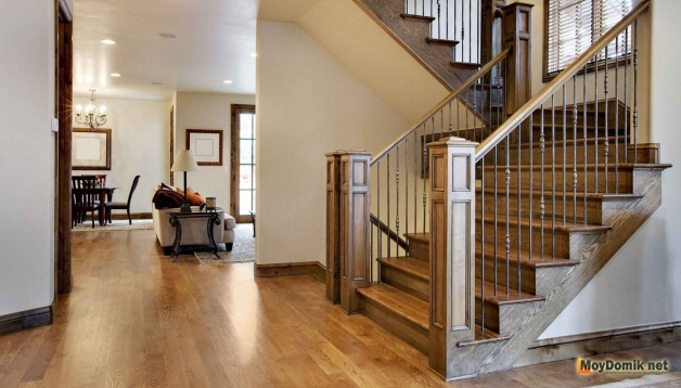 Как сделать деревянную лестницу своими силами
