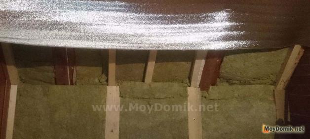 Как утеплить стены в бане базальтовой ватой и пеноизолом
