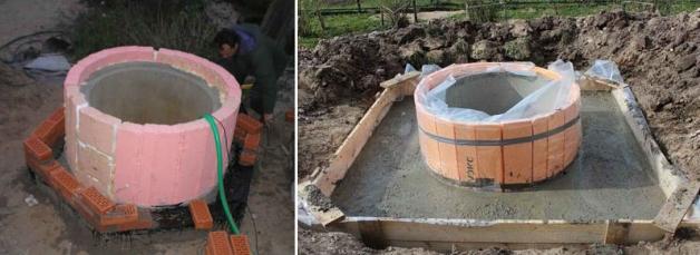 Утепление колодеца из бетонных колец пенопластом, пеноплексом