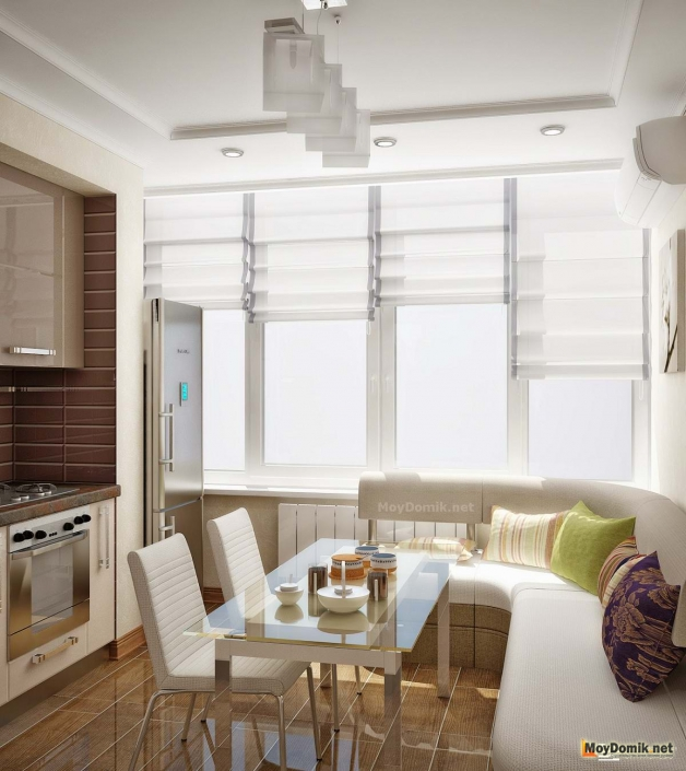 Проект кухни в современном стиле