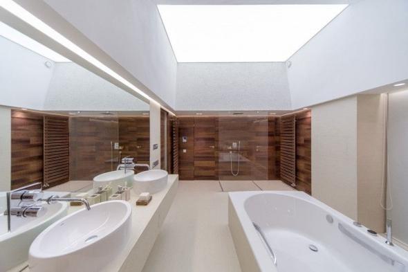 Светодиодная подсветка потолка в интерьере
