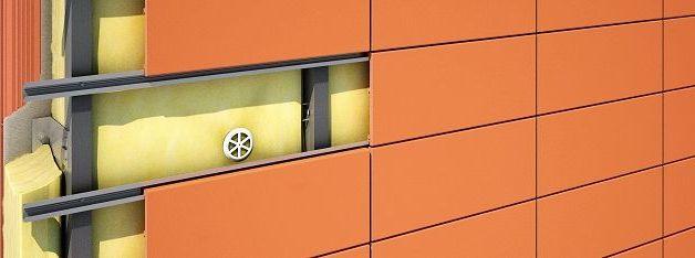 Монтаж навесных вентилируемых фасадов своими руками