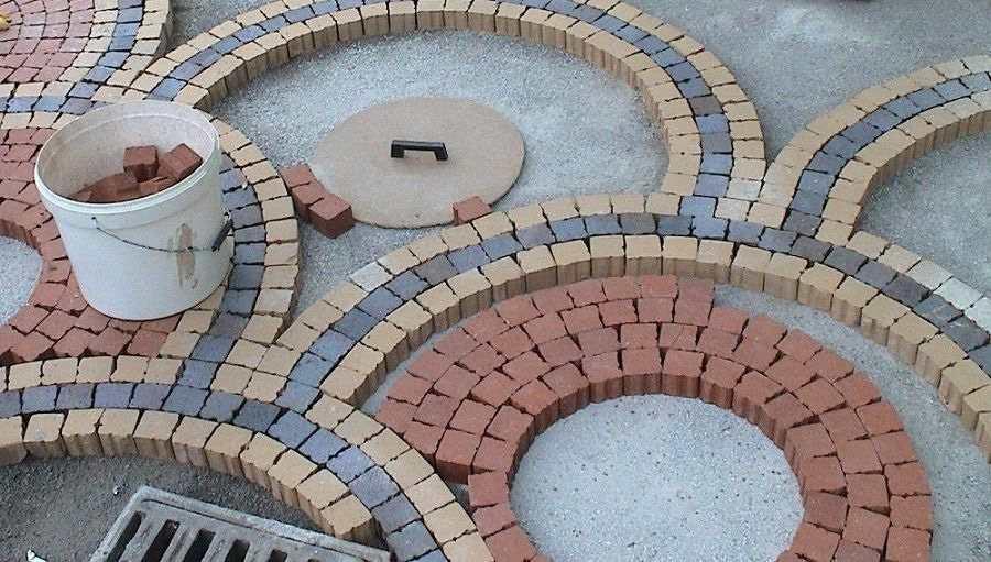 Тротуарная плитка своими руками рисунки
