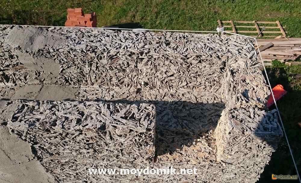 Фундамент под арболитовый дом своими руками видео 102