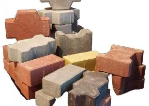 Разные варианты тротуарной плитки