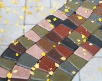 Укладки тротуарной плитки - абстракция