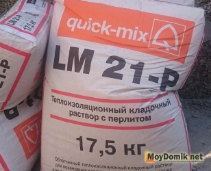 Кладочная смесь с перлитом LM 21-P