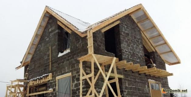 Крыша для дома из арболита