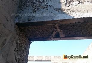 Оконные и дверные перемычки в доме из арболита