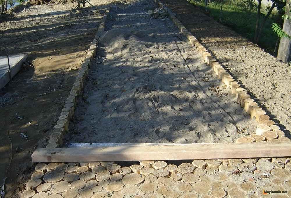 Деревянные тротуар своими руками 950