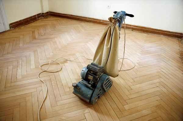 Циклевка старого паркета и пола своими руками – шлифовка деревянного напольного покрытия без пыли