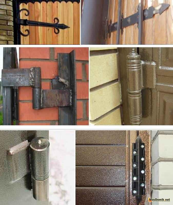 установка металлических дверей распашных