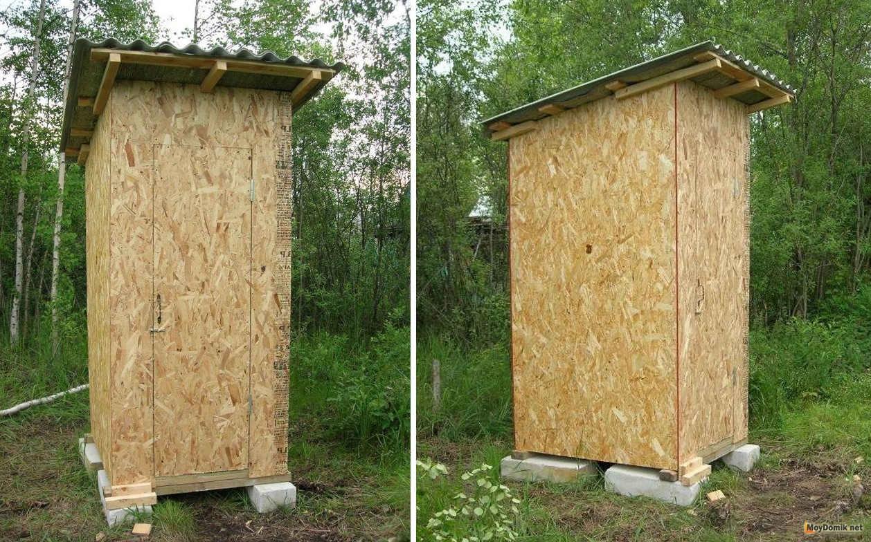 Уличный домашний туалет своими руками 35
