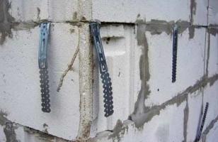 Армирующая лента для газоблоков - монтаж