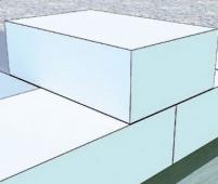 Перевязка газобетонной кладки на всю толщину газоблока