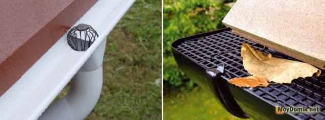 Решетки-листоуловители для водостоков