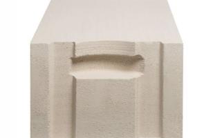 Стеновой газобетонный блок с системой паз-гребень