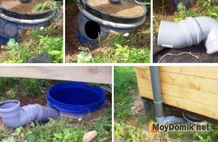 Устройство вентиляции для уличного туалета пошагово