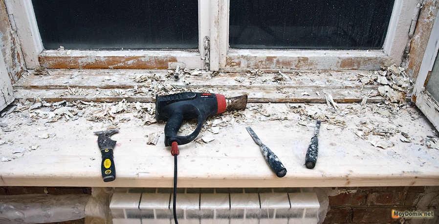 Как очистить старую краску с дерева в домашних условиях 791