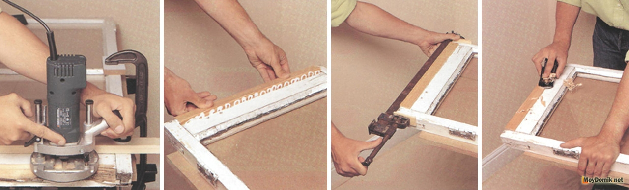 Как сделать шпаклевку для окон своими руками 2
